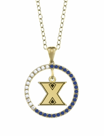 Xavier Musketeers Sapphire and Diamond Necklace