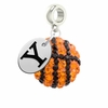 Yale Bulldogs Crystal Drop Charm