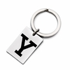 Yale Bulldogs Stainless Steel Key Ring