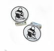 Youngstown State Penguin Sterling Silver Cufflinks