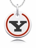 Youngstown State Penguins Round Enamel Charm