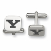 Youngstown State Penguins Stainless Steel Cufflinks