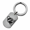 Youngstown State Penguins Stainless Steel Key Ring