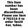 Ten20® - 4 oz. Tubes (Case) DISCONTINUED - Use Item #702316-3