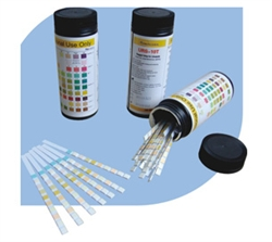 URS-10T Urinalysis Reagent Strips 10 Panel (100 Tests)