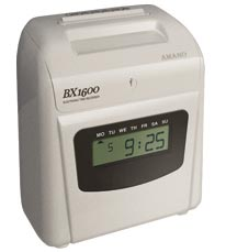 Amano BX-1600 Electronic Time Recorder