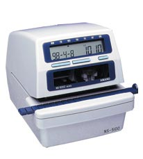 Amano NS-5100 Electronic Time/Date & Numbering Machine