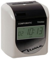 COMPUMATIC TR440d ELECTRONIC TIME RECORDER