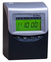 COMPUMATIC XL1000e COMPUTERIZED TIME RECORDER