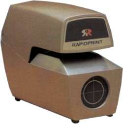 Rapidprint Model: AR-E - Mechanical Date & Time Stamp