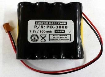 REPLACEMENT BATTERIES FOR THE AMANO PIX-3000x TIME CLOCK