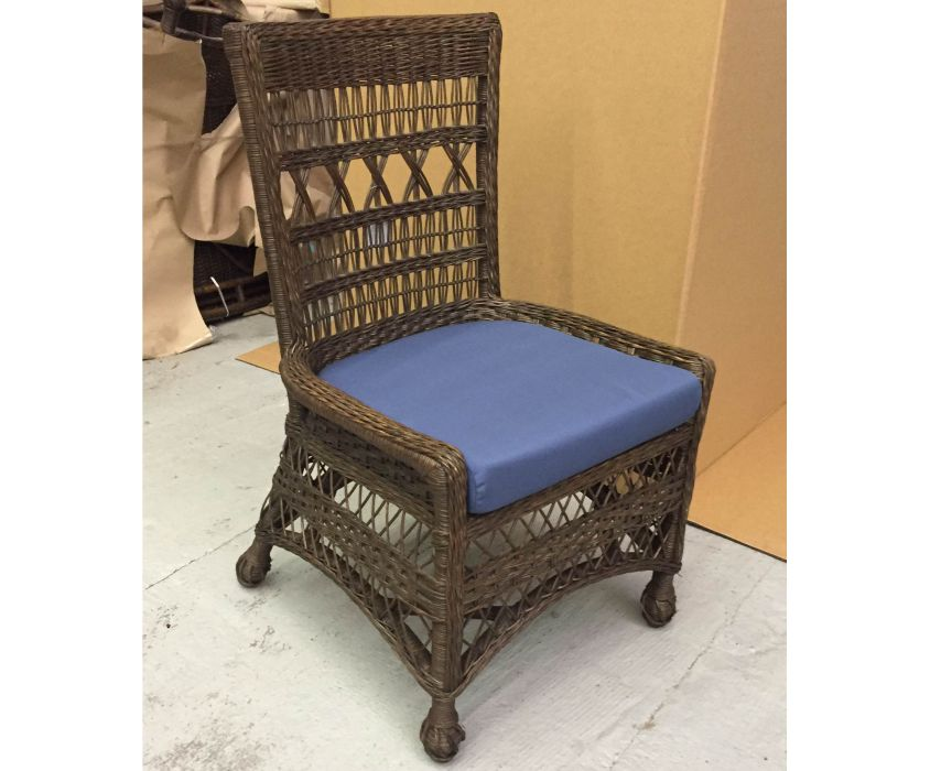 7106 Bar Harbor Wicker Side Dining Chair