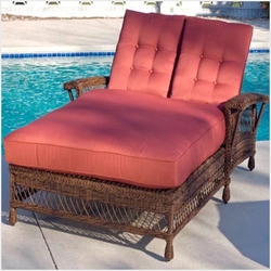 Bar Harbor Outdoor Double Chaise