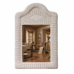 Bombay Wicker Wall Mirror