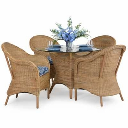 Dinette Sets, Indoor Wicker Dining Sets