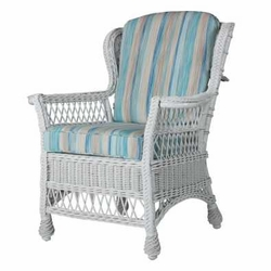 Concord Wicker Dining Arm Chair