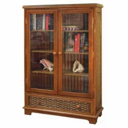 Cottage Library Wicker Bookcase