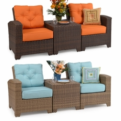 Isabel 3-Piece Sectional Chair Set