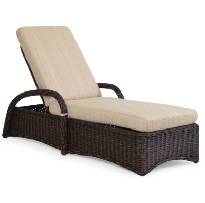 Bhcldbl outdoor wicker double chaise lounge chair for Chaise lounge bar