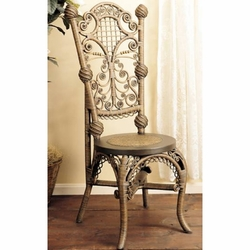 Lady's Reception Wicker Chair