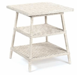 Loft Wicker End Table