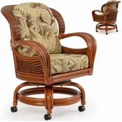 Lucia Caster Dining Chair