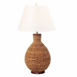 Natural Braided Table Lamp