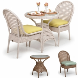 Outdoor 3-Piece Dining Sets