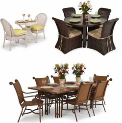 """Outdoor Dining Sets<img src=""""http://site.wickerhomepatiofurniture.com/images/waterdropsm.gif"""" width=""""10"""" height=""""20"""" border=""""0"""">"""