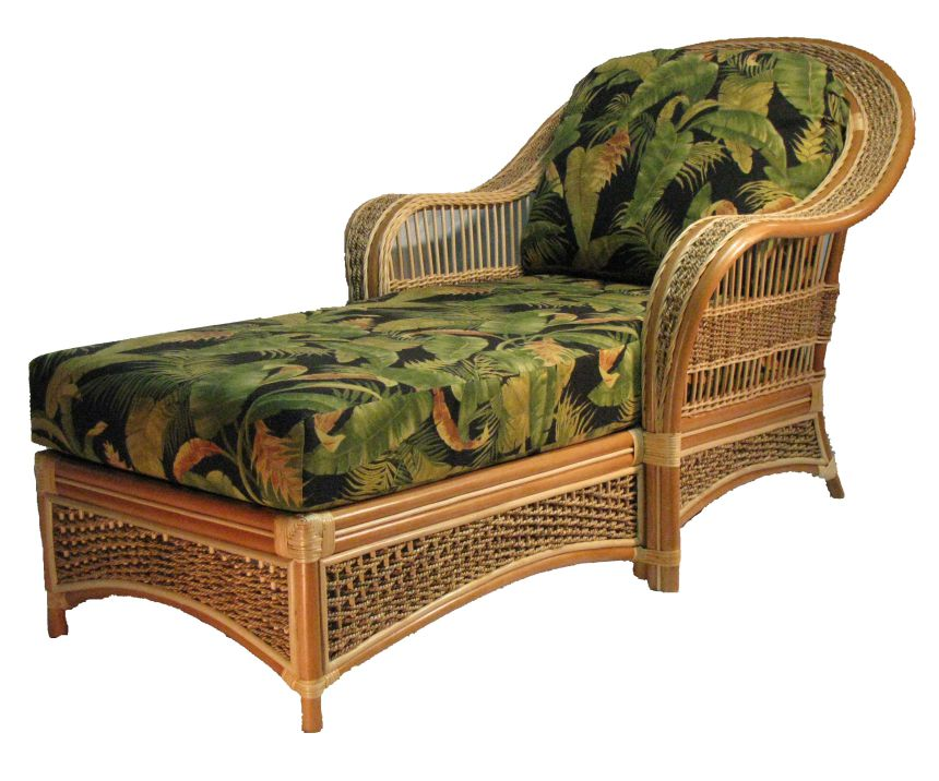sicl rattan chaise lounge chair. Black Bedroom Furniture Sets. Home Design Ideas