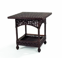 Riviera Loggia Wicker Table