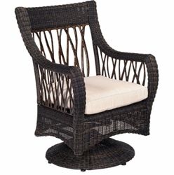 Serengeti Swivel Rocker Dining Chair