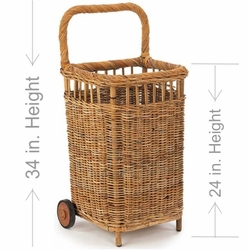 Small French Country Market Cart