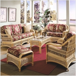 spice island furniture set wicker for sunroom