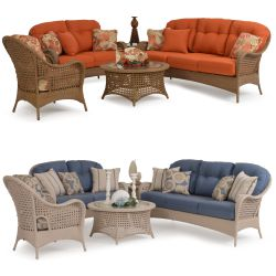 Outdoor wicker furniture sets for Furniture 4 less salinas