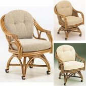 Swivel Caster Dining Chairs