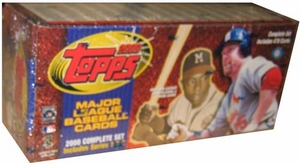 2000 Topps Baseball Card Set