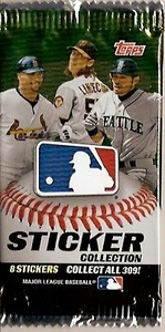 2011 Topps Baseball Sticker Collection Pack