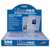 Ultra Pro 9-Pocket Pages Silver Series (25 Plastic Sheets)