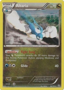 Altaria 84/124 - Pokemon Dragons Exalted Holo Rare Card