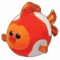 Bubbles the Goldfish (Large - 8 inch) - TY Beanie Ballz