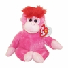Charmer The Pink Monkey (Regular Size) - TY Beanie Baby