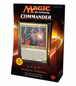 Commander 2016 Entropic Uprising MTG Deck