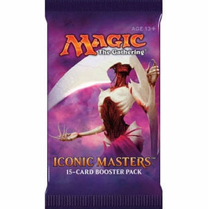 Iconic Masters Magic Booster Pack