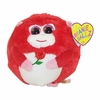 In Love The Red Monkey (Regular Size) - TY Beanie Ballz