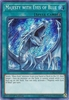 Majesty with Eyes of Blue LCKC-EN031 Secret Rare - Legendary Collection Kaiba