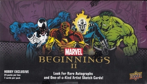 Marvel Beginnings 2: Booster Box (24 Booster Packs Per Box)