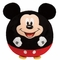Mickey Mouse (Regular Size) - TY Beanie Ballz