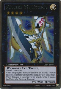 Number 39: Utopia GLD5-EN036 - YuGiOh Haunted Mine Gold Rare Card