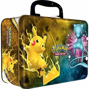 Pokemon 2017 Collector's Chest Pikachu & Mew Tin [Shining Legends]